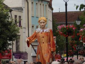 Lady Godiva visits Rugby
