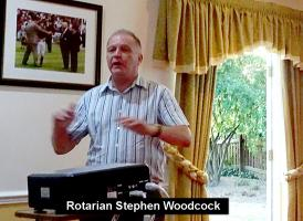 Disability Sport and Rotary by Rotarian Stephen Woodcock PHF