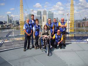 A new visit to the top of the O2 arena