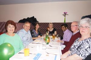 Charity Chinese meal at the Mayflower
