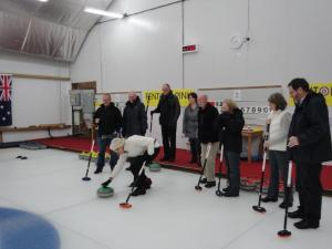 Curling at Frant