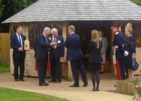 Official opening of Chestnut Grange