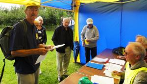 Rotary Sponsored Walk Proceeds in aid of St Francis Hospice
