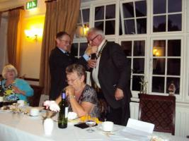 Handover Dinner Upminster Golf Club