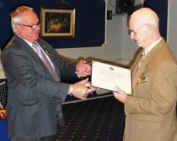 50 years of Rotary Service Award to Rtn Ron Geggus