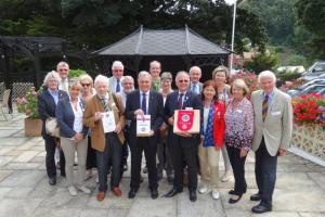 Visit of the Rotary Clubs of Chard, Rotherham, Tulln, & Dingolfing-Landau (20 July 2016)