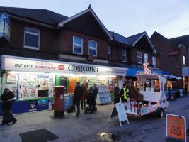 One Minute Video - Christmas Static collections Float parked by Costcutters