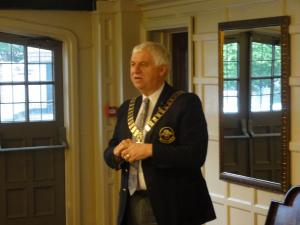 Speaker Meeting District Governor Alan Clark