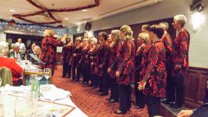 Christmas Meal with Somerset Hills Chorus