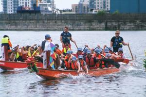 Want to donate to the Charity Dragon Boat Challenge ?