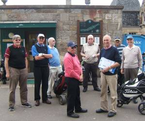 Jim McLean Golf Trophy 2013