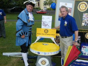 Rotary at Newton Abbot Carnival