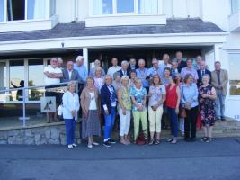 Visit to Holyhead by Dun Laoghaire Rotary Club 24th July 2017