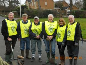 Nantwich Rotary working in the Community