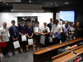 Highcliffe Student wins the Food Festival Cookery Challenge