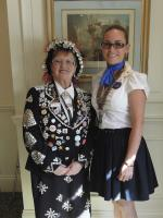 Lunchtime Meeting Speaker - Doreen Golding, Pearly Queen of Bow Bells and Old Kent Road