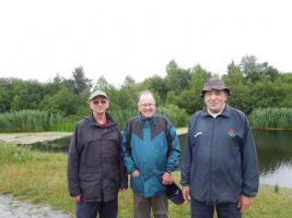 Rotary ramble - Pennington Flash ,Leigh WN7 3UG in memory of PP Phil Laker (main photo July 2015)