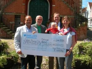 Notcutt Lecture Raises £1000 for Deben Rowing Club