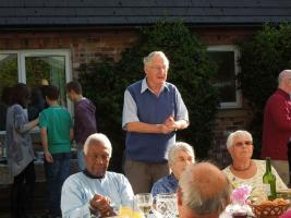Fellowship Evening  -Barbeque at Roger & Chris Walkers house