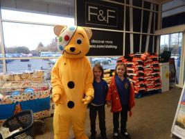 PUDSEY WENT TO TESCO