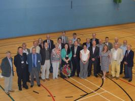12 June 2014 Visit to the Dunblane Centre.