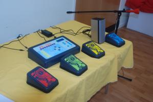 Verwood Rotary donate Soundbeam equipment to Verwood Day Center