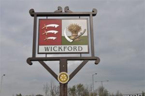Wickford Town Sign