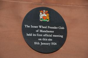 Inner Wheel Plaque unveiling at the Bridgewater Hall 15th August 2013