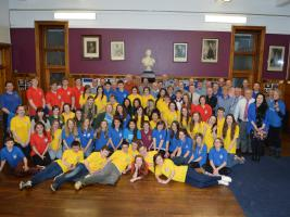 6 February 2014 A Gavel night with QV School Interact Club