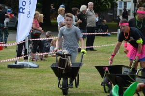 Wheelbarrow Racing 2017