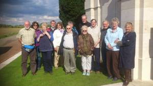 Visit to WW1 Battlefields of N France and Flanders - May 2012