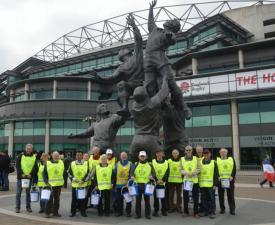 Rugby fans donate for Nepal