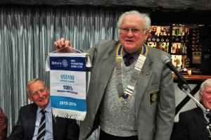 Rotary Wickford - the 100% Club!!