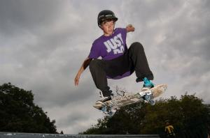 Supporting Young People - Skateboard & BMX Park Ruislip