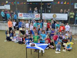 25 May 2014 Judy Murray Tennis Competition