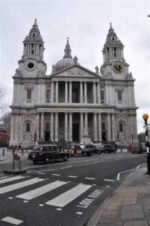 St Paul's cathedral February 2010