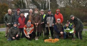 Bulb Planting at Potsford Dam