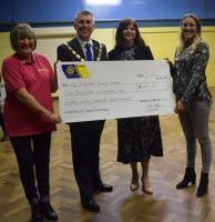 My Time for Young Carers - Cheque presentation