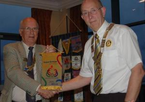Visit of District Governor Keith Best