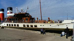Trip on The Waverley Paddle Steamer