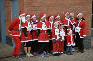 Childrens Santa Fun Run 2014