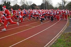 The Rotary Santa Fun Run December 2014