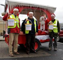 Santa's Sleigh at Sainsbury's - Friday & Saturday 13th & 14th December 2014