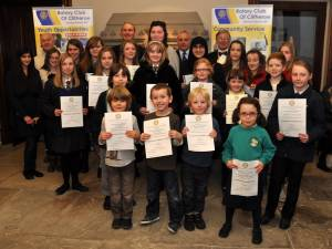 Young Artist & Young Photographer Clitheroe Area Competition Prize Giving 3rd February 2012