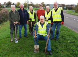 Keeping Fit - Daffodil Planting