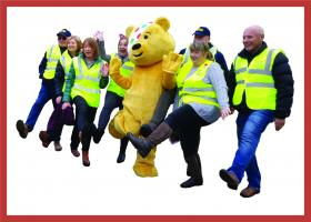 Penrith Rocks for Pudsey