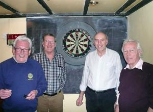 24 February 2011 - Club team win second match in District Darts Tournament