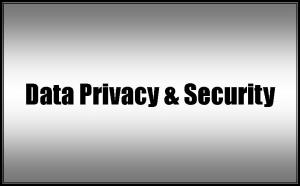 -  Privacy & Data Security  -