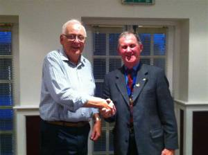 David Blakely inducted as Member