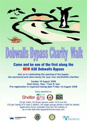 Dobwalls By-pass Charity Walk